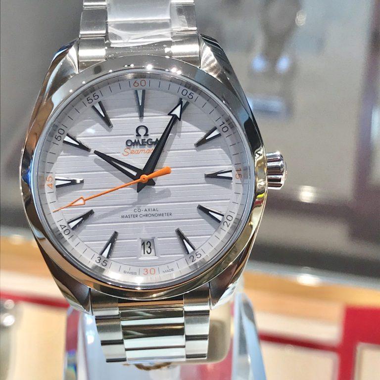オメガ シーマスター アクアテラ 白 ホワイト 長野 正規代理店 腕時計
