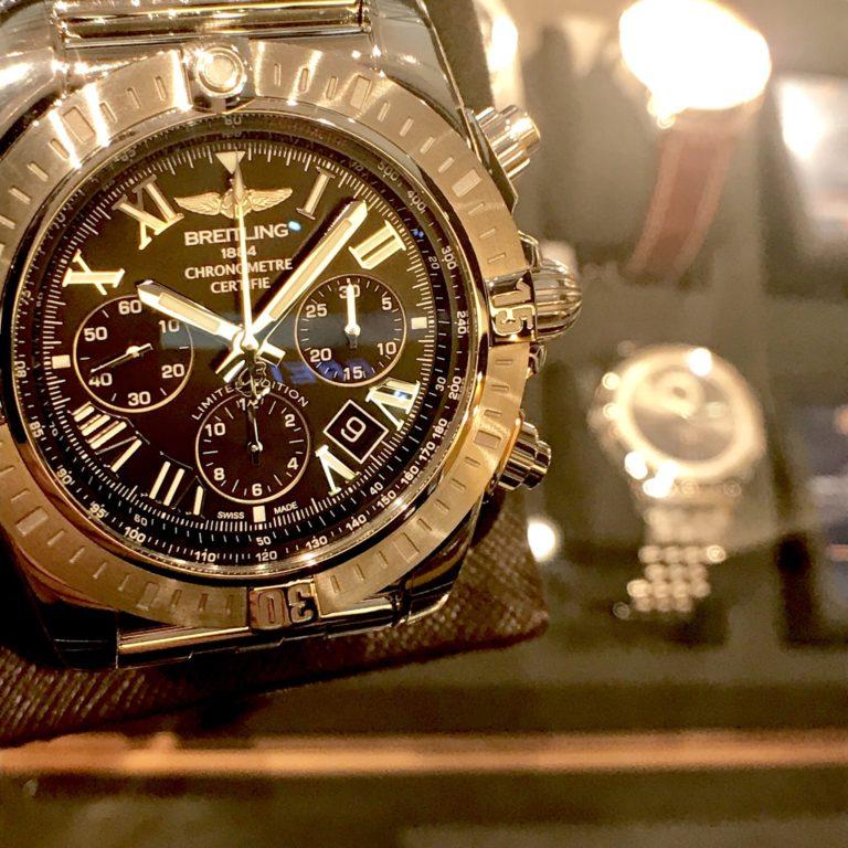 ブライトリングの腕時計 クロノマットJSP 日本限定ローマンエディション