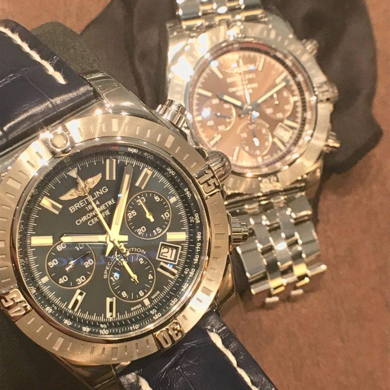 ブライトリングの腕時計 クロノマットJSP