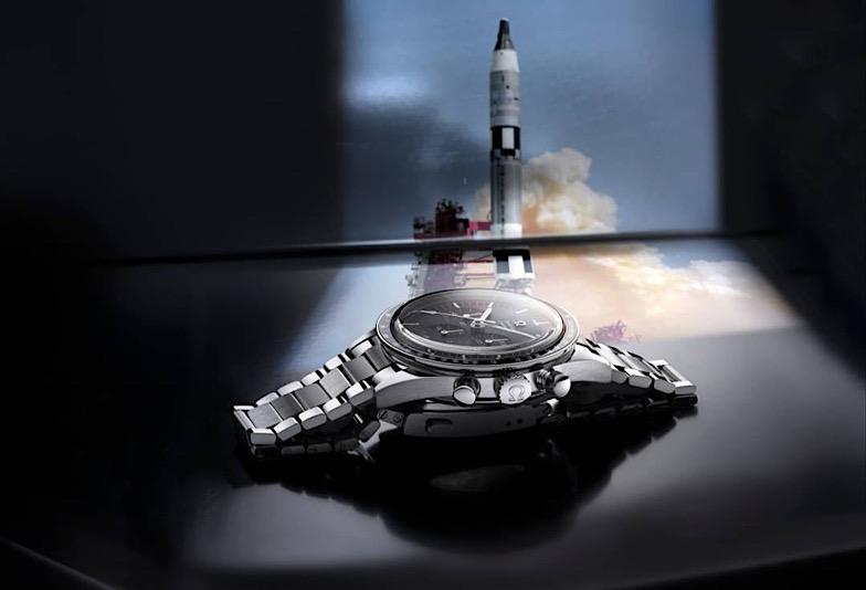 スピードマスタープロフェッショナルとロケット