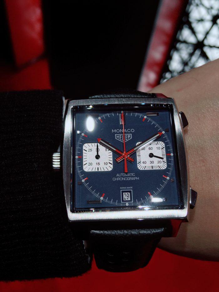 タグホイヤーの腕時計「モナコ」