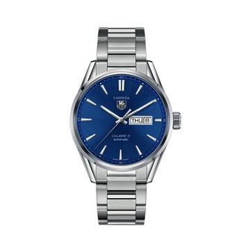 青文字盤の腕時計「カレラ」長野市タグホイヤー正規代理店