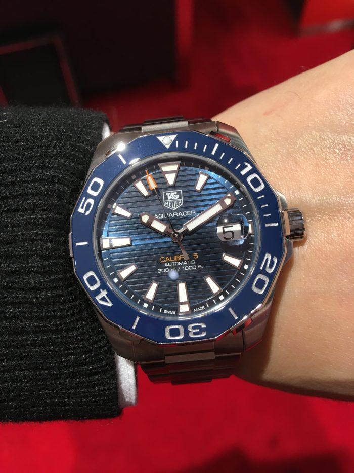 タグホイヤーの腕時計「アクアレーサー」長野市正規取扱店